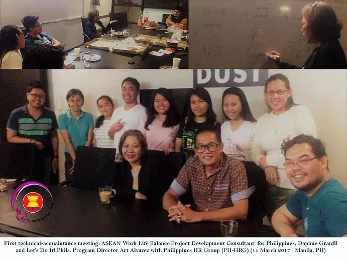 Daphne Granfil met with Philippines HR in April 2017