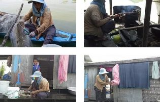 When Work and Life are Not Balanced : Life on the Floating Villages